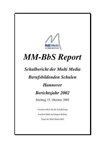 Schuljahresbericht 2002 - MM-BbS