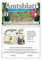 """Frühlingskonzert des MVE in der Halle am Durbach """"Bezaubert und ..."""
