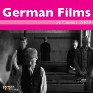 at Cannes 2009 - German Films