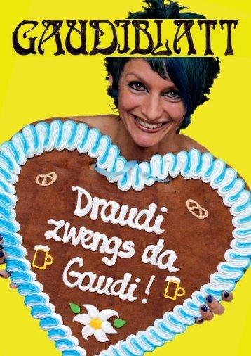 zum oktoberfest - Gaudiblatt