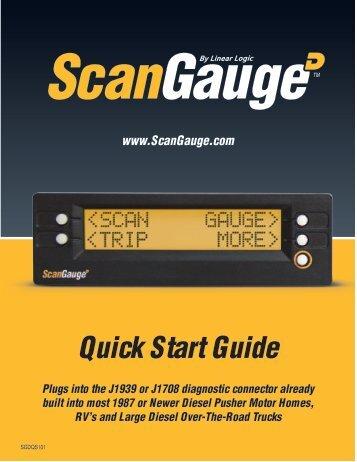 ScanGaugeD Quick Start Guide