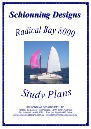 Radical Bay 1060 Study Plans A4 - Schionning Designs