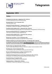 Telegramm September 2012 - Wirtschaftsjunioren Braunschweig