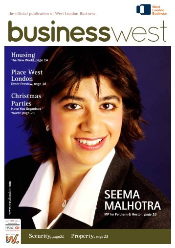 to see the current issue - West London Business