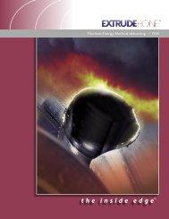TEM – Thermal Energy Method deburring - Extrude Hone