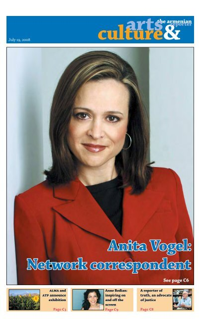 Anita Vogel: Network correspondent - Armenian Reporter