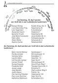 Westerrönfelder Gemeindebote - Luther, Kirche in Westerrönfeld - Page 6
