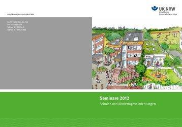 Seminare 2012 - Verkehrserziehung und Mobilitätsbildung in NRW