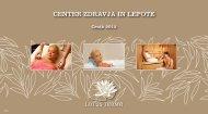 Prenesite cenik_lotus_health__beauty.pdf - Hotel Sava Rogaška ...