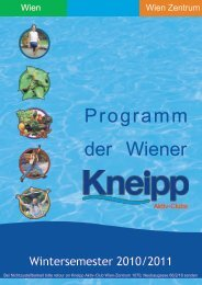 Tel.: +43 (1) - Kneippbund