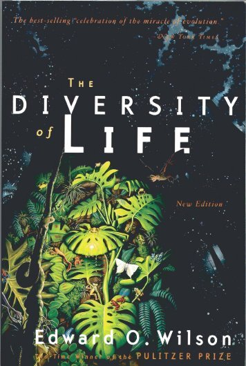 E.O. Wilson excerpt - The Department of Ecology and Evolutionary ...