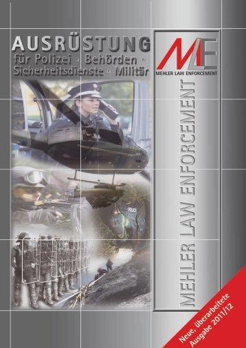 Neue, überarbeitete Ausgabe 2011/12 - Mehler Law Enforcement ...