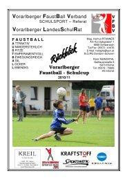 Vorarlberger FaustBall Verband - Bildung Leben