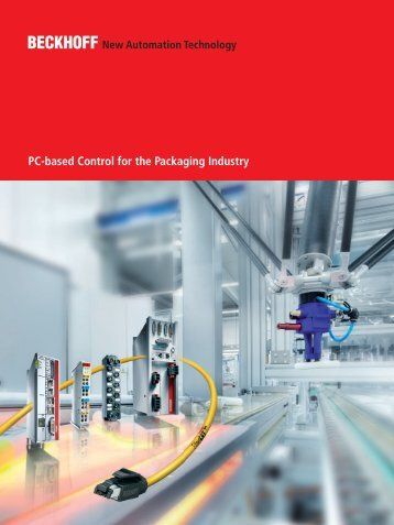 PC-based Control for Packaging Machines - download - Beckhoff