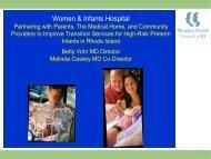 Women & Infants Hospital - Women's Health Council