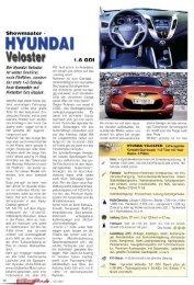 Motor Freizeit Trends 01.11.11 - Showmaster - Hyundai Veloster