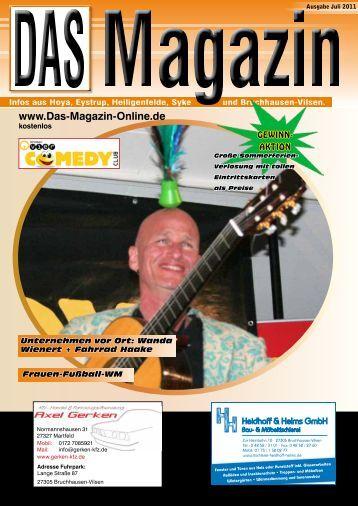 Ausgabe Juli 2011 - Plakatverteilung