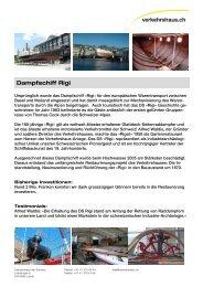 Dampfschiff Rigi - Verkehrshaus der Schweiz
