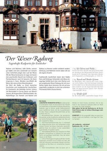 Der Weser-Radweg - Die Landpartie Radeln und Reisen GmbH