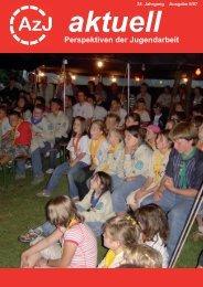 AzJ-aktuell 2/2007 - Arbeitskreis zentraler Jugendverbände eV