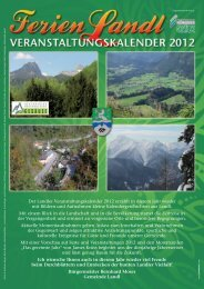 Veranstaltungs Kalender 2012 - Forstmuseum Silvanum