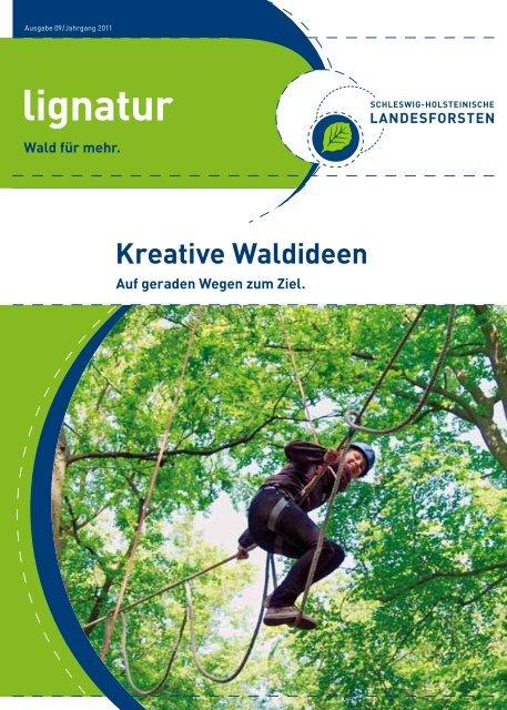 Ausgabe 09/Jahrgang 2011 - Schleswig-Holsteinische Landesforsten