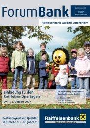 Forum Walding 03-07 - Raiffeisen