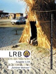 LRB 1'2004 - BdP Landesverband Schleswig-Holstein / Hamburg