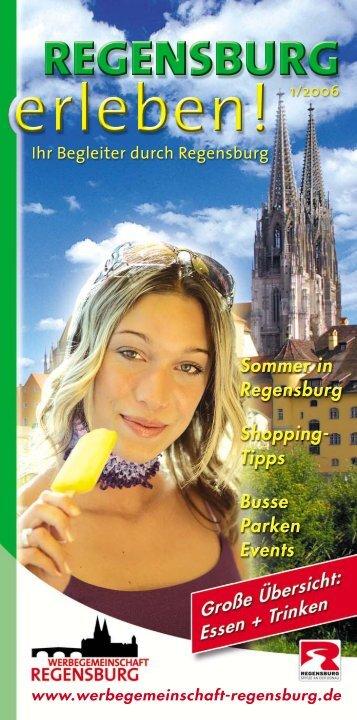 """Sommer 2006:""""Heiß auf Regensburg"""" - Werbegemeinschaft ..."""