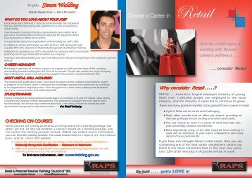 Profile: Simon Walding - Retail and Personal Services Training ...