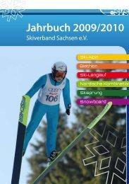 Jahrbuch 2009/2010 - Skiverband Sachsen eV