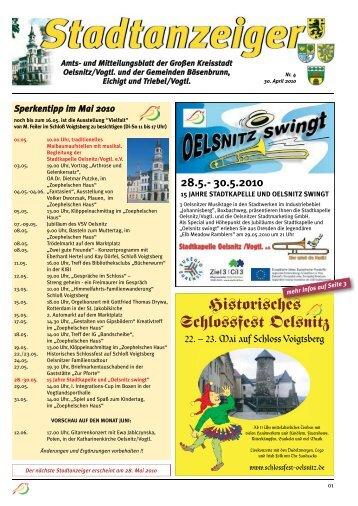 Historisches Schlossfest Oelsnitz - 1. Bürgerliche Schützengilde zu ...