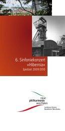 6. Sinfoniekonzert »Hibernia« - Neue Philharmonie Westfalen