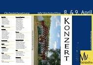 O Z E R T - Musikverein Kirchdorf/Inn