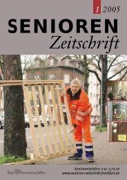 Die gesamte Ausgabe 1/2005 als pdf-Datei - Senioren Zeitschrift ...