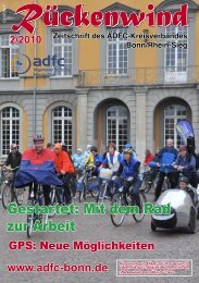 Gestartet: Mit dem Rad zur Arbeit - ADFC Bonn/Rhein-Sieg - (ADFC ...