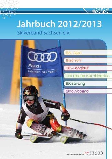 Jahrbuch 2012/2013 - Skiverband Sachsen eV