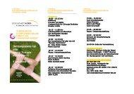 Programm Veranstaltungsort Veranstaltungsort Anmeldung und ...