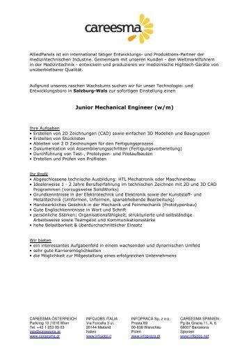 Jobangebote AlliedPanels - HTL-Hallein