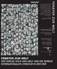 fenster zur welt - Dokumentationszentrum Alltagskultur der DDR