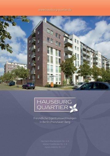 Hausburg Quartier: Broschüre mit Informationen (PDF, 3,3