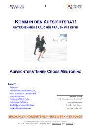 Aufsichtsrätinnen Cross Mentoring - BIC - BILDUNGSCENTER ...