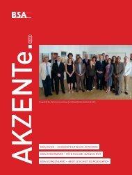 Akzente 03/2010 - BSA
