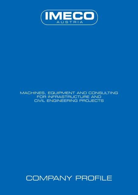 COMPANY PROFILE - IMECO Austria