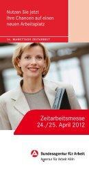 Zeitarbeitsmesse 24./25. April 2012