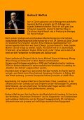 Gunhard Mattes - sinfonieorchester horgen-thalwil - Seite 2