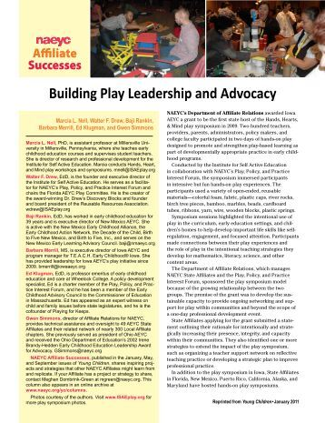 Leadership and nation building