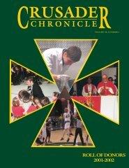 CHRONICLE - Strake Jesuit College Preparatory