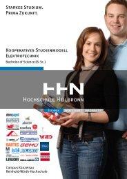 Broschüre des Kooperativen Studienmodells - Studieren in ...