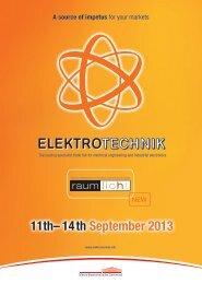 11th– 14th September 2013 - Westfalenhallen